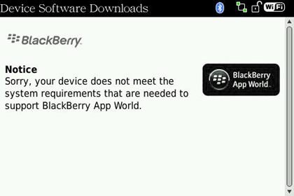 Black Berry App World System Requirements