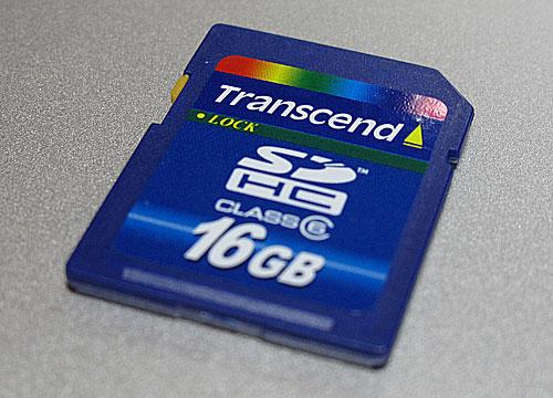 Class 6 SDHC 16GB