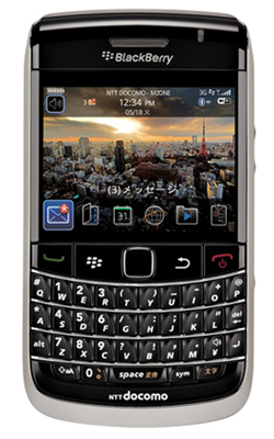 docomo BlackBerry Bold 9700