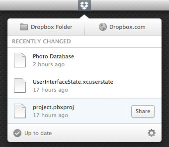 Dropbox 1.7.6 Experimental Feature Build