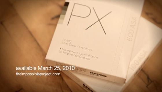 Polaroid Film PX600, PX100